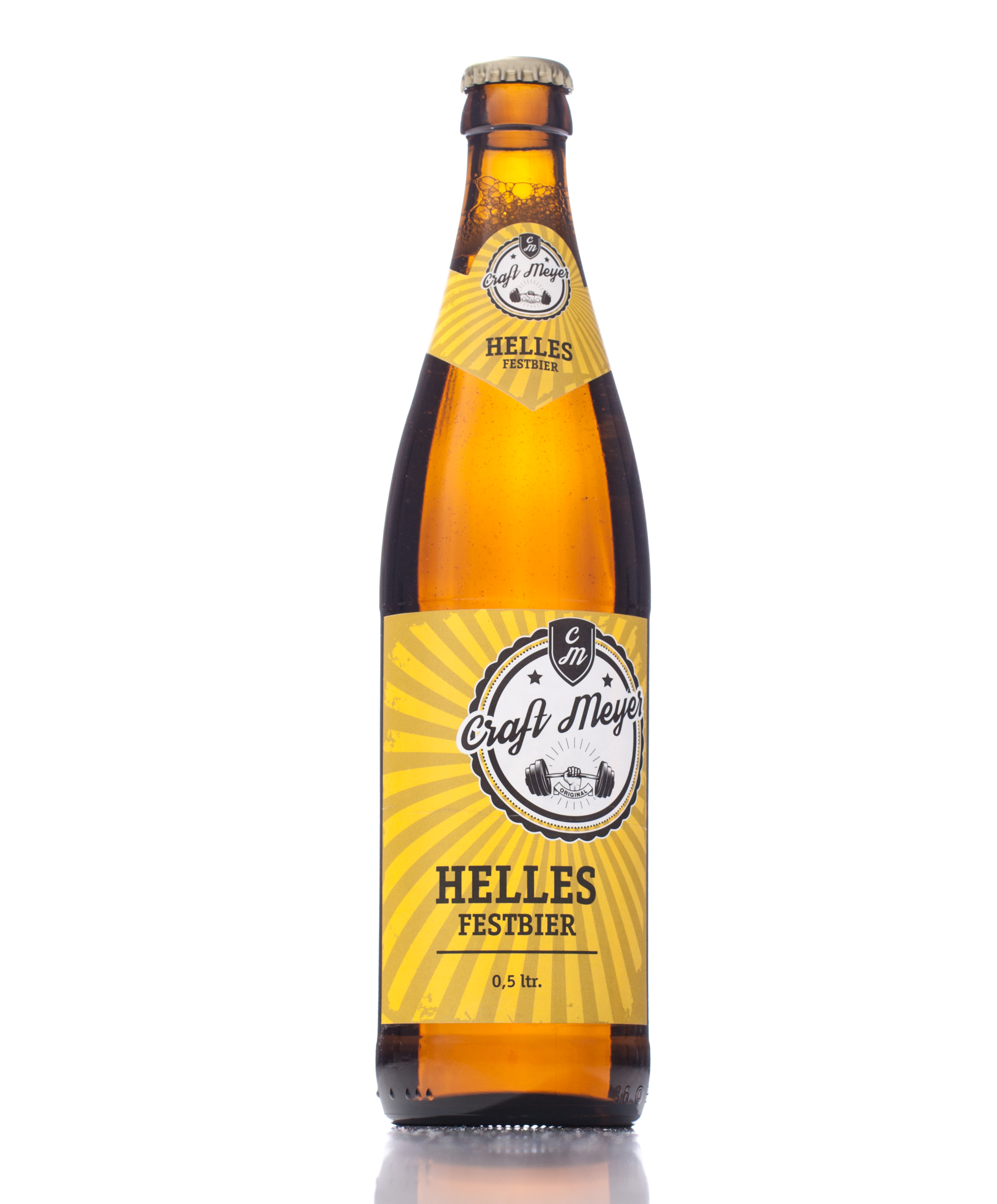 Craft Meyer helles Bier